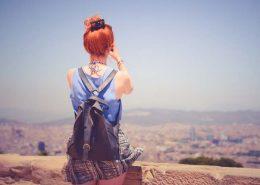 solo trip woman