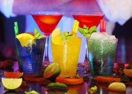 colorfull drink